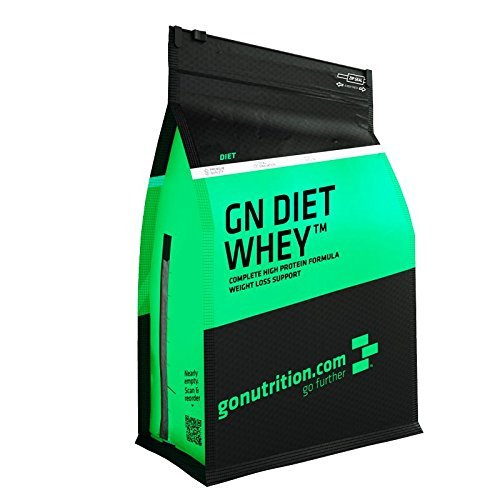GoNutrition Diet Whey - Multiple Flavours - Powder - Pouch - 500g, 2kg - Added Green Tea Extract and L-Carnitine - 100% Natural Flavours - 5 Flavours (Vanilla Ice Cream, 2KG) by GoNutrition® by GoNutrition®