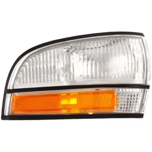 DAT Compatible Front Side Marker Light Assembly Corner of Fender Right Passenger Side 91-96 Buick Park Avenue Without Cornering Light GM2551147
