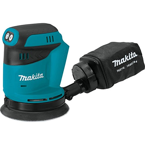 Makita XOB01Z 18V LXT Lithium-Ion Cordless 5'' Random Orbit Sander, Tool Only