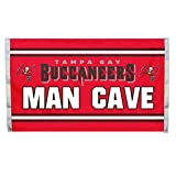 NFL Tampa Bay Buccaneers Man Cave 3 x 5 Flag with 4 Grommets, Team