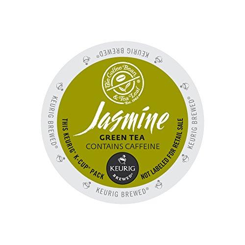 The Coffee Bean and Tea Leaf Jasmine Green Tea, Keurig K-Cups, 60 Count