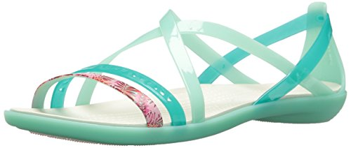 Crocs Women's Isabella Cut Graphic Strappy Sandal Super Lightweight 6WisjSi