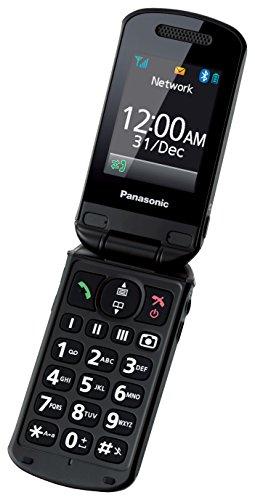 Panasonic KX-TU329EXME 2.4 114g Negro, Gris Teléfono básico - Teléfono móvil (Concha, SIM única, 6,1 cm (2.4), 2 MP, 1020 mAh, Negro, Gris)