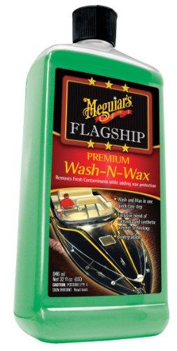 Skid Wax Deck Non (Meguiars Inc. 32 oz. Meguiars M4232 Flagship Premium Wash-N-Wax 32)