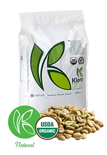 Single Origin Organic Unroasted Green Coffee Beans, Specialty-grade, Direct trade, Brazil | Klem-C05 | Brazil Arabica Red Catuai Varietal, Single Origin, NY 4, Screen 15/16- (11 L/B) - (5 KG)