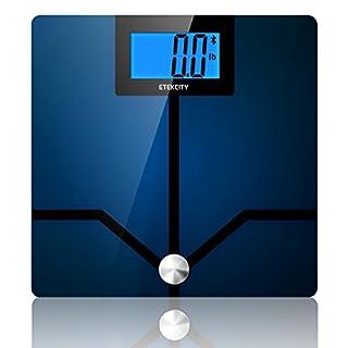 Etekcity Etekfit Digital Body Fat Weight BMI Bluetooth Scale, BIA Technology, 400 Pounds (B00UVHXNRE) | Amazon price tracker / tracking, Amazon price history charts, Amazon price watches, Amazon price drop alerts