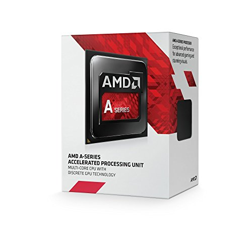 AMD A4-7300 APU Dual Core Radeon CPU Processor HD8470D Graphics FM2 3800Mhz 65W 1MB (AD7300OKHLBOX)