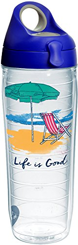 Tervis 1265879 Life Is Good-Beach Chair Insulated Tumbler wi