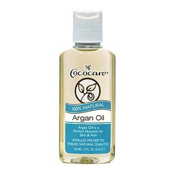 Cococare 100 Percent Natural Argan Oil, 2 Fluid Ounce