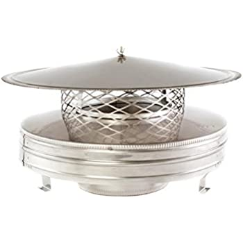 Amazon Com Round Air Cooled Chimney Cap 8 Round Home