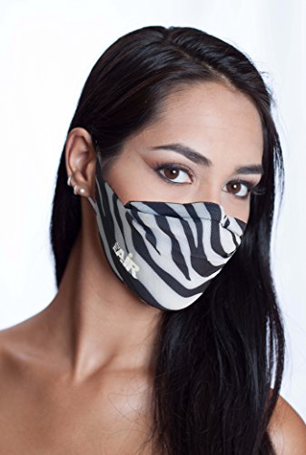 MyAir Comfort Mask, Starter Kit in Zebra - Made in USA. IDF Donation! by MyAir (Image #5)