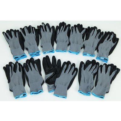 Ironton Nitrile-Coated Gloves - 12 Pairs (Gorilla Gloves)