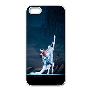 Unique Phone Case Pattern 2Swan-ballet dancer- For Apple Iphone 5 5S Cases