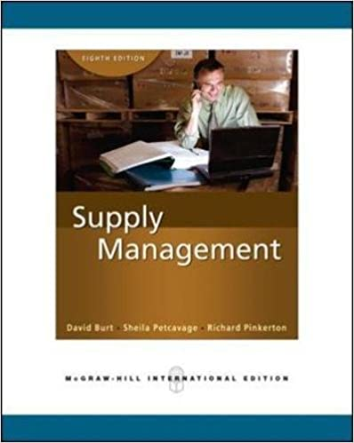 Supply Management (Int'l Ed): The Key to Supply Chain Management
