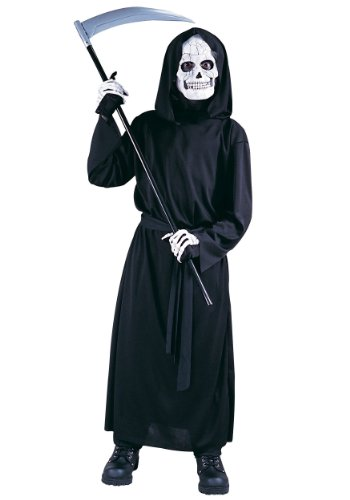 [Big Boys' Reaper Costume Standard (Up to 12)] (Grave Reaper Costumes)