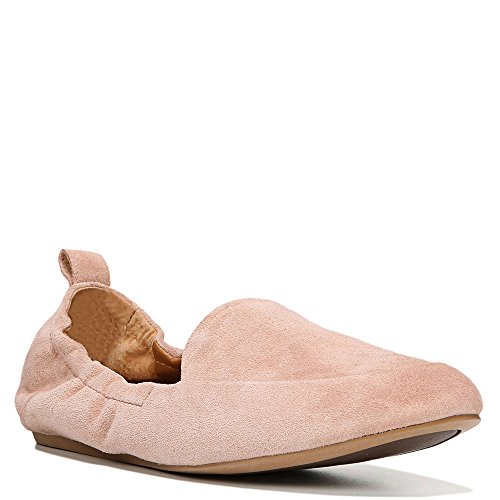 Franco Sarto Sarto by Womens Stacey Loafer Adobe Rose Lux Brushed Suede mdKc6m4vRj