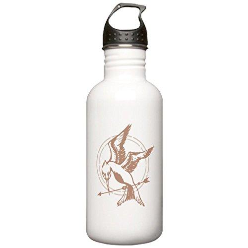 CafePress - Mockingjay Art Stainless Water Bottle 1 - Stainless Steel Water Bottle, 1.0L Sports Bottle