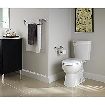 Chrome Delta Faucet 41350 Traditional Tissue Holder//Assist Bar