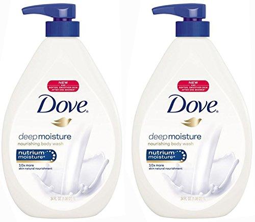 Dove Body Wash Moisture Ounce