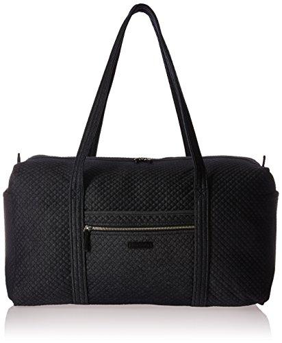 Vera Bradley Large Travel Duffel, Denim Navy (Paisley Bag Weekender)