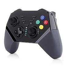 TUTUO Mando para Nintendo Switch, Wireless Bluetooth Pro Controller Controlador Inalámbrico Compatible con Nintendo Switch/Lite