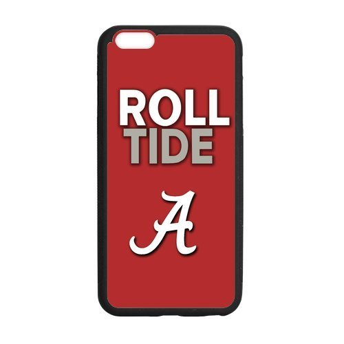 [iphone 6 plus (5.5) case discount custom stylish Case for iPhone 6plus Apple NCAA Alabama Crimson Tide ROLL TIDE] (Work Team Costumes)