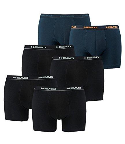 Para Peacoat 1x2er Black 2x2er 200 Head 493 orange Básico Bóxers Hombre qxCEB8w68