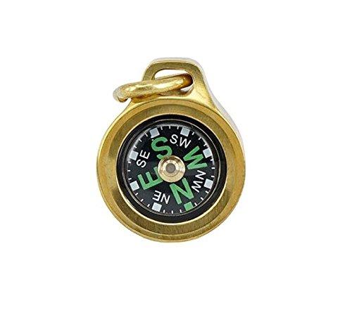 MecArmy Keychain Compass CMP (brass)