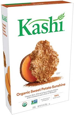 Breakfast Cereal: Kashi Organic Sweet Potato Sunshine