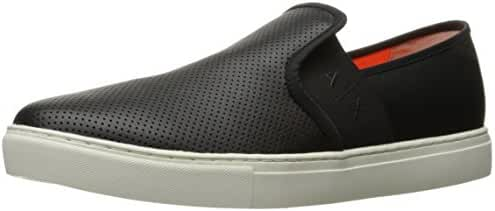 A X Armani Exchange Men's Micro Perf Slip on Fashion Sneaker