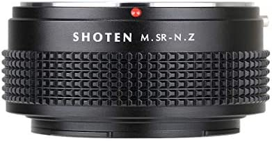SHOTEN Adapter for MINOLTA MD MC SR Mount Lens to Nikon Z Mount Z6 Z7 Camera