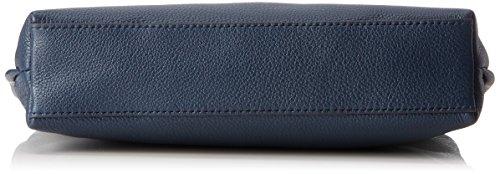 Skagen Damen Tasche Mikkeline - Mini Satchel Borse a secchiello Donna, Blau (Ink), 6.5x18x25.5 cm (B x H T)
