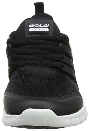Gola Gravity, Zapatillas Deportivas Para Interior Para Niños Negro (Black/white)