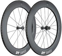 DT SWISS(DTスイス) ARC 1100 ダイカット 80 ホイールセット Dicut 700C チューブレスレディ対応カーボンホイール シマノ用 前後セット B077HQ1FCW