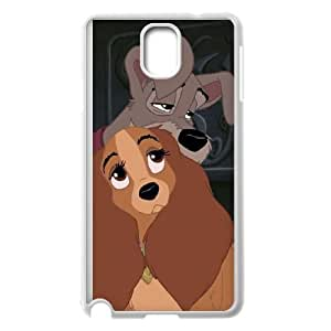 Lady and the Tramp II Scamp's Adventure Samsung Galaxy Note 3 Cell Phone Case White Q6974706