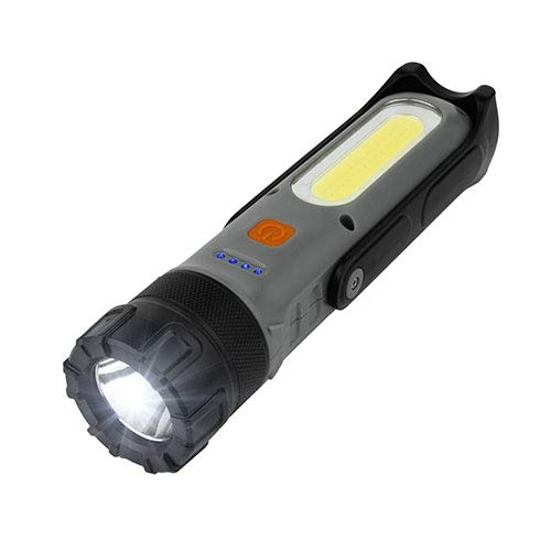 Wagan EL4306 Brite-Nite Wayfinder Light Flashlight LED Lantern with Li-on Rechargeable Battery