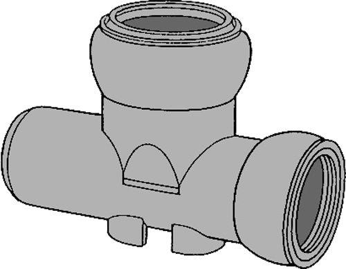 下水道関連製品>ビニホール>傾斜対応型ビニホール 200 KFVHF200-200シリーズ KFVHF-75L左200-200 Mコード:46134 前澤化成工業 B079BQ9JW7