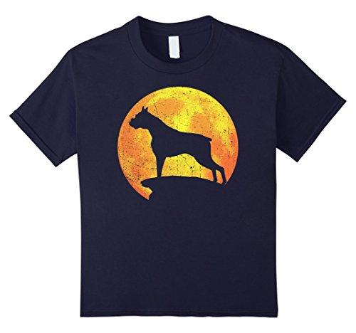 BOXER Dog Orange Halloween Costume Vintage T-shirt