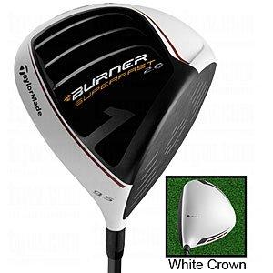 (TaylorMade Burner Super Fast 2.0 Golf Driver, Left Hand, Graphite, 9.5-Degree, Regular)