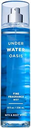 Bath and Body Works UNDERWATER OASIS Fine Fragrance Mist 8 Fluid Ounce (2018 Edition)