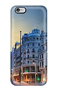 For Iphone 6 Plus Premium Tpu Case Cover Madrid City Protective Case by Maris's Diary