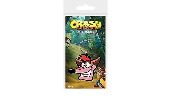 1art1® Crash Bandicoot - Extra Life Llavero (6 x 4cm ...