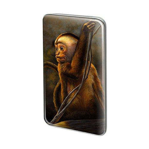 GRAPHICS & MORE Capuchin Monkey Organ Grinder Metal Rectangle Lapel Hat Pin Tie Tack Pinback -