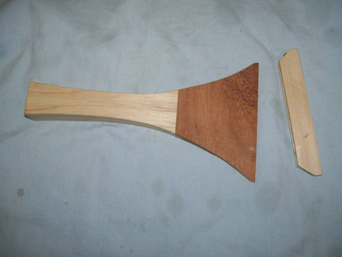 Bachi, Solid wood hand carved. for Japanese Shamisen from Maestro