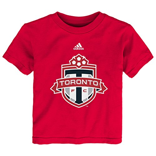 Outerstuff MLS Toronto FC Primary Logo TMC Toddler Boys Short Sleeve Tee, 3T, Red by Outerstuff