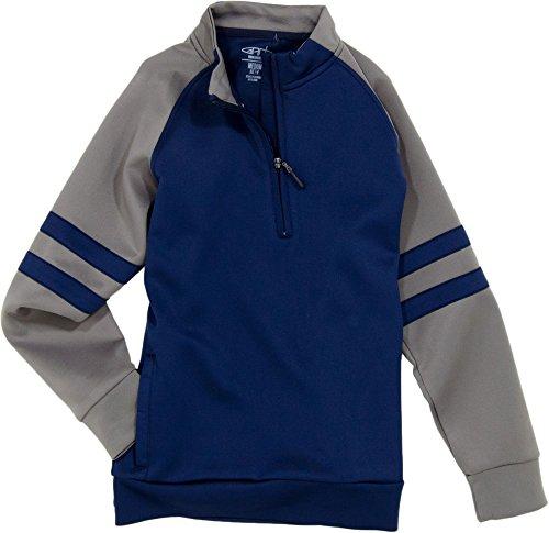 Garb Boys' Justin Quarter-Zip Golf Pullover (Navy, S) (Clothing Garb)