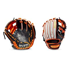 This time of year brings fall colors to everyone�s mind. We decided to run with it in this custom A2000 1786 with a White SuperSkin with Black and Orange Pro Stock Leather. This new take on our most popular infield model is unlike anything yo...