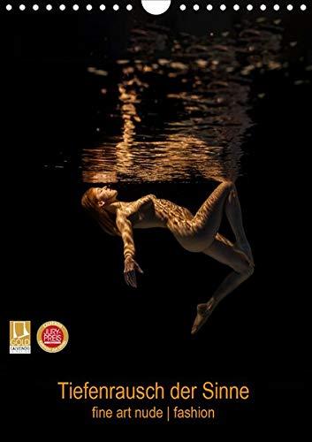 Tiefenrausch der Sinne (Wandkalender 2020 DIN A4 hoch): Fotokalender von Frauen unter Wasser (Monatskalender, 14 Seiten ) (CA