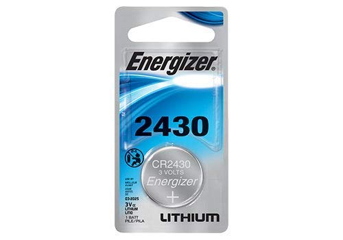(2 Pack Energizer ECR2430BP Lithium 3-Volt Coin Cell Battery)