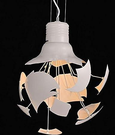 Moderno Diseño Línea De Pescado Lámpara Colgante / Lámpara Rota Colgante Luz / Aluminio Pintura Lámpara